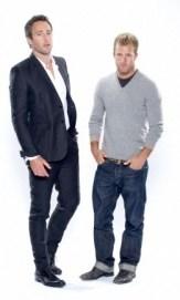 Alex O'Loughlin and Scott Caan