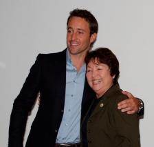 Alex with Sen. Michelle Kidani (32 March 2011)