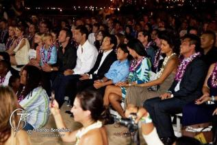 Stars with family and friends - SOTB 2011