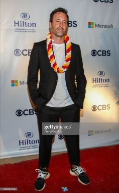 """WAIKIKI, HI - SEPTEMBER 19: Alex OLoughlin attends the Sunset On The Beach event celebrating the 10th season of """"Hawaii Five-0"""" and season 2 of """"Magnum P.I."""" at Queen's Surf Beach on September 19, 2019 in Waikiki, Hawaii. (Photo by Darryl Oumi/Getty Images)"""